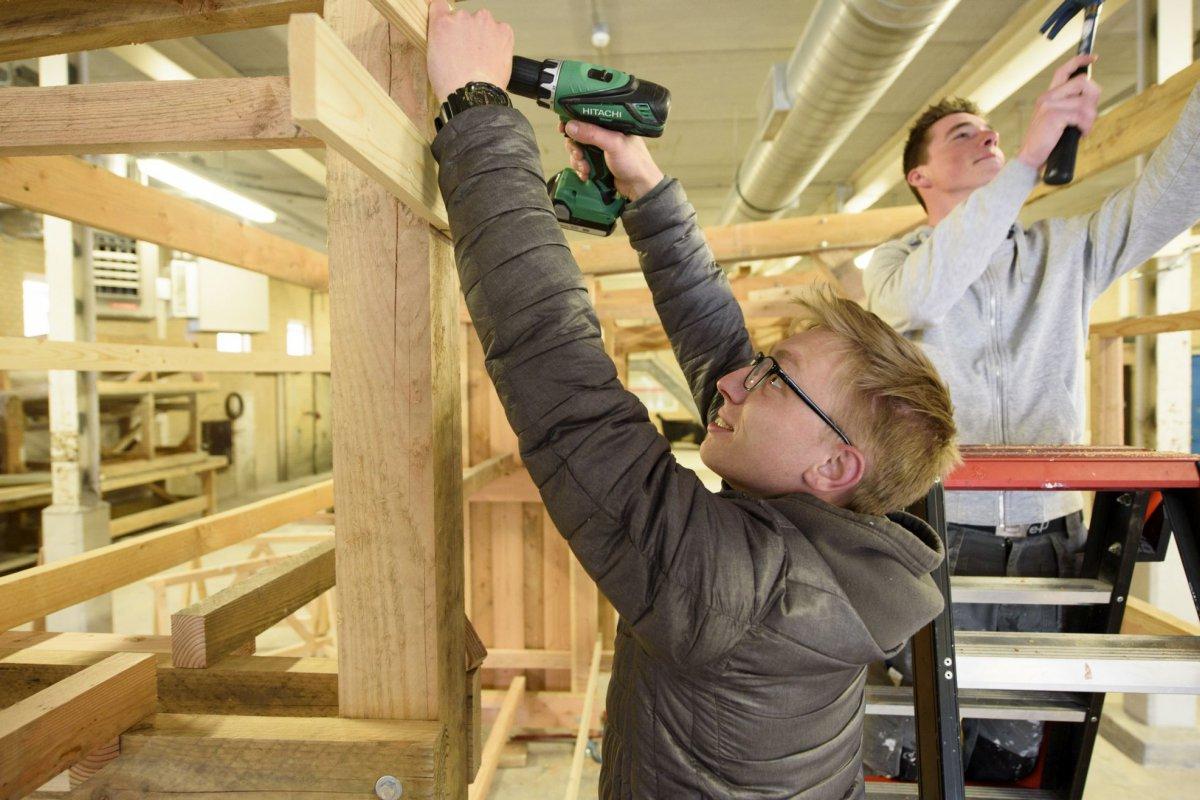 Bouw interieur college roc midden nederland for Interieur opleiding mbo