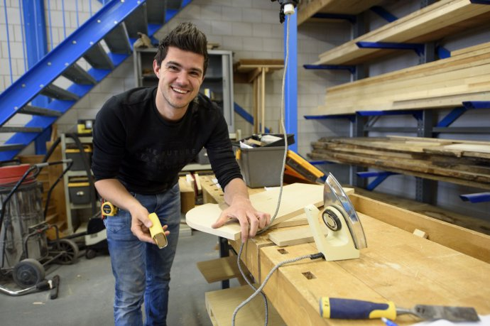 studenten bouw interieur college over hun opleiding