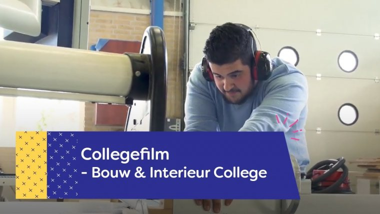 YouTube video - Het Bouw & Interieur College op de Tech Campus