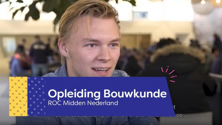 YouTube video - Opleiding Bouwkunde