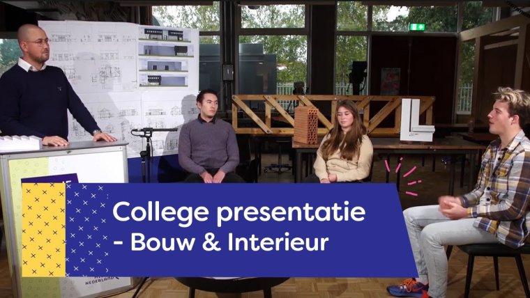 YouTube video - Bouw & Interieur College | Amersfoort