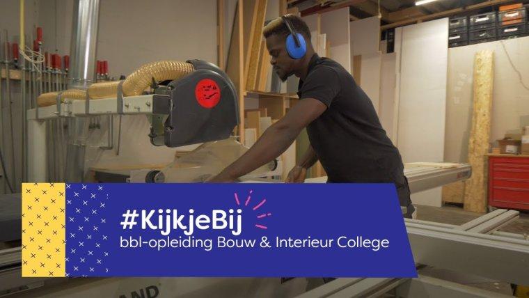 YouTube video - Een #KijkjeBij de bbl-werkplek van Jeannot