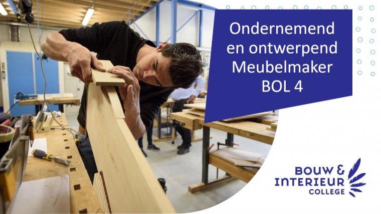 YouTube video - Online voorlichting opleiding Ondernemend en ontwerpend meubelmaker