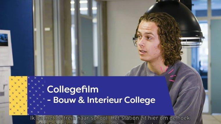 YouTube video - Het Bouw & Interieur College op de Campus Amersfoort