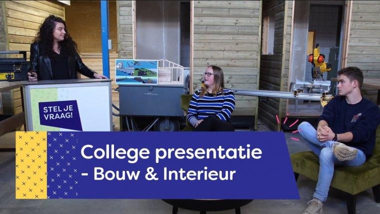 YouTube video - Bouw & Interieur College | Nieuwegein